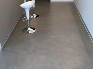 Resina per pavimenti effetto delavé